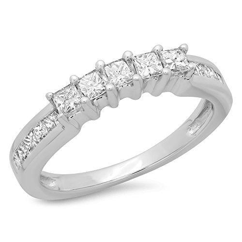 0.55 Ct Princess Diamond - 7