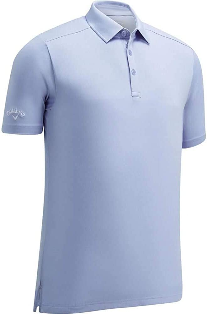 Callaway Men's Cooling Solid Micro Hex Polo