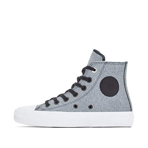 Converse Black Ii m medium white white Star All Ctas Chuck B grey Hi 8 Taylor Us qgqpFS