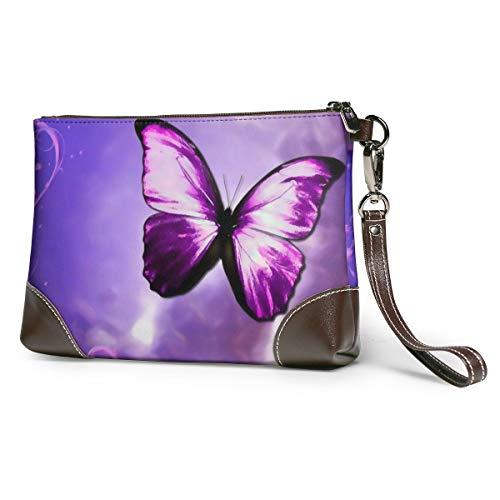 Purple Butterfly Art...