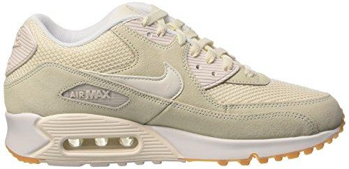 Nike Herren Air Max 90 Essential Low-Top Weiß (Phantom/Phantom-White-Gum Yellow)