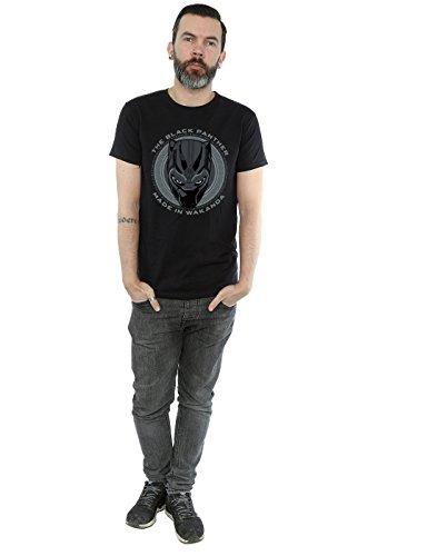 en camiseta Panther hecho Marvel Black Man Wakanda negra xA4PxROq