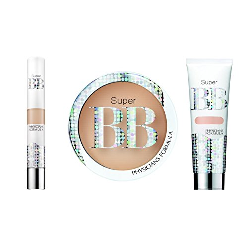 Physicians Formula Super BB All-In-1 Beauty Balm Kit - Concealer: 0.14 Ounce, Cream: 1.2 Fluid Ounce & Powder: 0.29 Ounce