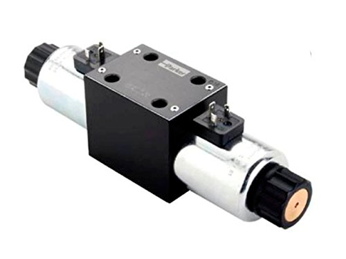 Parker D3W Series - Double solenoid, 3 position, spring centered - NFPA D05 (CETOP 5, NG 10)