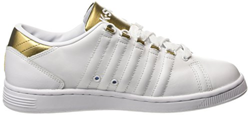 Iii Blanc Sneakers Femme K Lozan 194 gold swiss Weiß white Basses Enqx1px