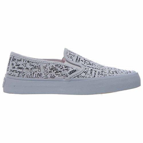 Bianco Slip Nero Vans Pantofole On Donna SF vgn6wXUqxZ