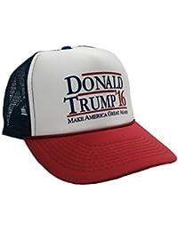 """Donald Trump 16 """"MAKE AMERICA GREAT AGAIN!"""" Adjustable Unisex Adult Hat Cap"""