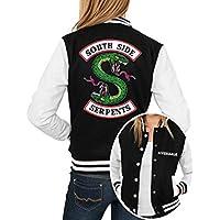 Blusa de Frio Preta Motoclube Motociclista Riverdale Southside Serpents
