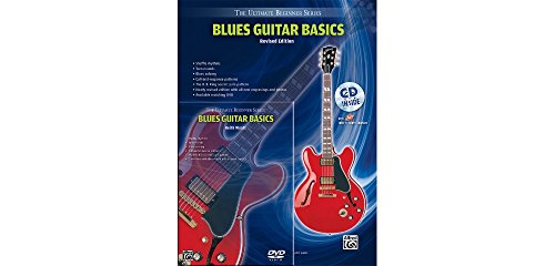 Alfred Ultimate Beginner Mega Pak Blues Guitar Basics (Rev. Ed.) Book, CD & DVD ()