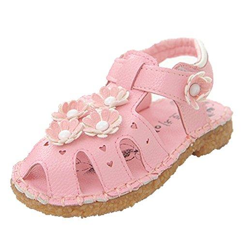 Kinder Mädchen Flach Freizeit Sandalen Sandaletten Kleinkinder Mädchen Halbschuhe Sandalette Ballerinas OHmais Vpn3JyP