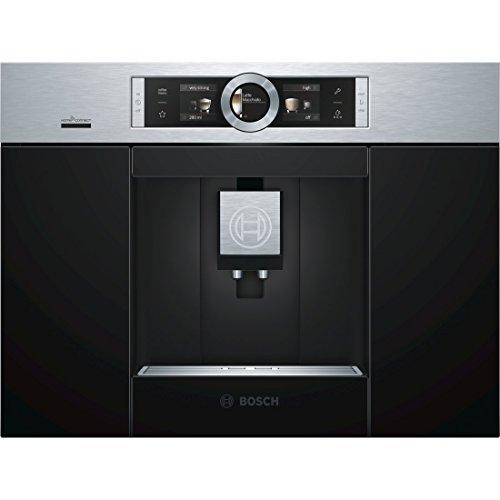 Bosch CTL636ES6 Kaffeemaschine / 2.4/ 59.4 cm / One-Touch Zubereitung / edelstahl