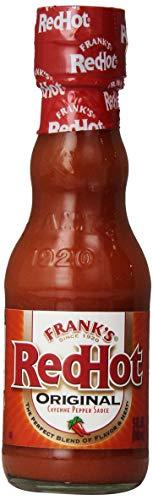 - Frank's RedHot Original Cayenne Pepper Hot Sauce (American Hot Sauce, Gluten Free), 5 fl oz