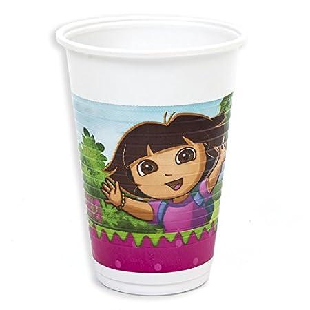 Desconocido Vasos Cumpleaños Infantiles: Amazon.es: Hogar