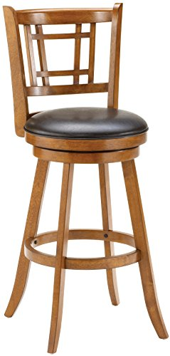 Hillsdale 4650-826 Fairfox Swivel Counter Stool, Oak for sale  Delivered anywhere in USA