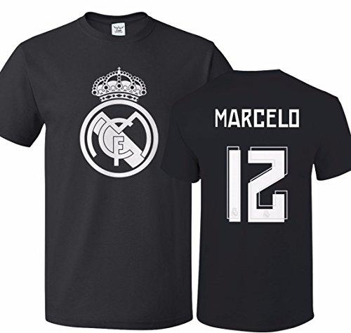 the latest 4a5b6 b10ab Tcamp Real Madrid Shirt Marcelo Vieira #12 Jersey Men T-shirt
