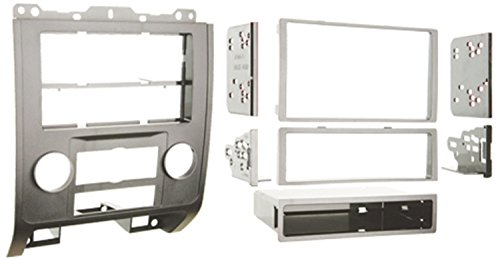 Metra 99-5814S Single or Double DIN Installation Dash Kit for 2008-up Ford Escape, Mercury Mariner, and Mazda Tribute (Silver) ()