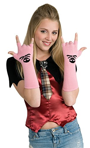 Rubie's Costume Drama Queens Skull and Crossbones Fingerless Gloves