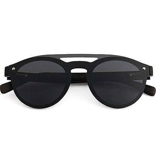 de Gafas Bamboo Al Frame Gu Piece Cool UV Men's Conducción Playa Leg Silver Peggy Sunglasses Vacaciones aire Protección sol PC Negro Pesca Style Color Lens Polarized TAC libre One g8ScwRWq