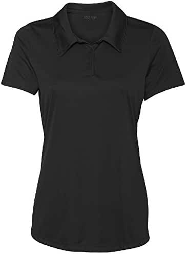 Women's Dri-Equip Golf Polo Shirts 3-Button Golf Polo's in 20 Colors XS-3XL