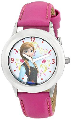 Disney Kids' W000974 Frozen Tween Anna Stainless Steel Watch