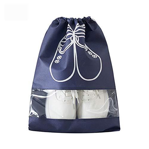 Shoe Bag Waterproof Shoes Bag Travel Portable Shoe Storage Bag Organize Tote Drawstring Bag Dolap Organizer Non-Woven Organizador L 2