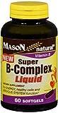 Mason Natural Super B-Complex - 60 Liquid Softgels, Pack of 6