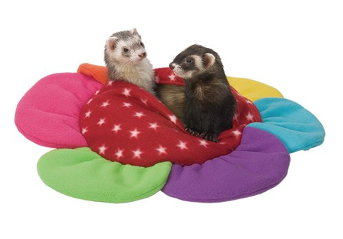 Marshall Ferret Krackle Sack, Flower Shaped Fleece