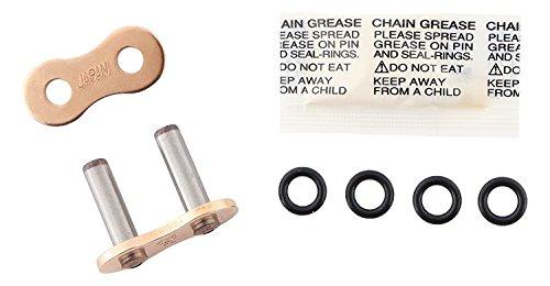 CBR 650 F 14-18 CBR 600 F4 99-06 CBR 600 RA ABS 09-18 New Supersprox G525-FL-R-RL 525 Gold Street O-Seal Rivet Master Link for Honda CB 750 Nighthawk 91-03 CBR 600 F3 97-98 CBR 600 RR 03-18