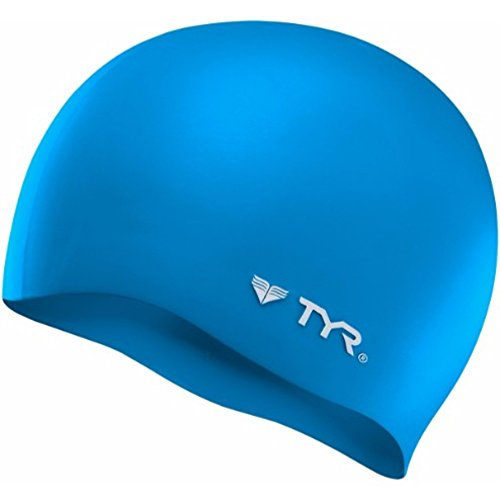 TYR Wrinkle Free Silicone Cap, Blue