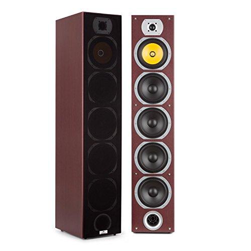 "auna V7B – 4-weg vloerstaande luidsprekers, vloerstaande luidsprekers, luidsprekers, boxen, 3 x 6,5 "" woofers, 1 x 6,5…"