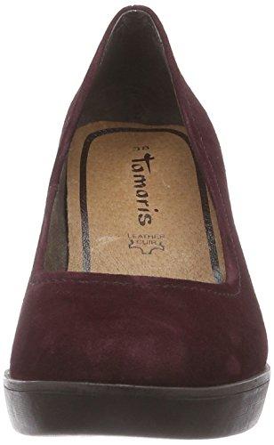 22425 Tamaris Rot Femme Bordeaux 549 Escarpins dqqrfwF