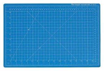 Amazon Com Cutting Mat 48x36 In Blue Industrial