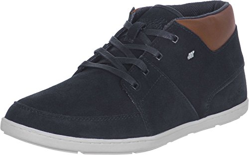 Boxfresh Cluff NavyBlanco CanvasCuero Trainers Hombres Botas