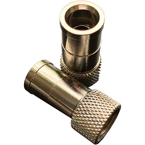 - Probrand(r) ProBrand 501881 Push-on RG6, 100 Pack, Does not Require a Crimp Tool to Attach to The coaxial Cable. Due to Excellent Pull Strength, The Connector is not Easily Detached The, Metallic