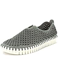 Ilse Jacobsen Tulip Perf Slip-On (37, Grey)