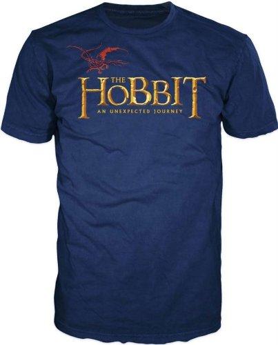 The Hobbit Dragon Logo Navy T-Shirt