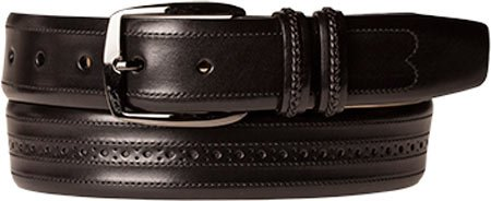 Mezlan Mens Artisan-Detailed Italian Calfskin, BLACK, 38 (AO9726)