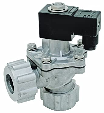 """Dwyer Series DCV Diaphragm Valve, 2"""" NPT Connection, Integrated Coil, Cv Factor of 106 GPM"""