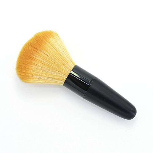 numbered makeup brushes - 5