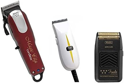 Wahl inalámbrico Magic Clipper, Super Micro Cortadora y Finale Shaver: Amazon.es: Salud y cuidado personal