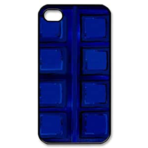 Iphone 4,4S 2D DIY Hard Back Durable Phone Case with Police Box Image