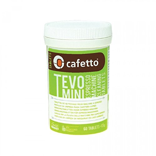 Cafetto TEVO MINI High Performance Espresso Machine Cleaning Tablets, (60 Count Tablets ()
