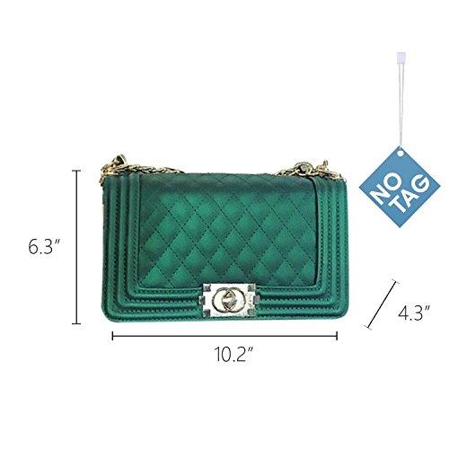 Verde al de para mujer Piel Bolso hombro Otra NOTAG RwC87xq6