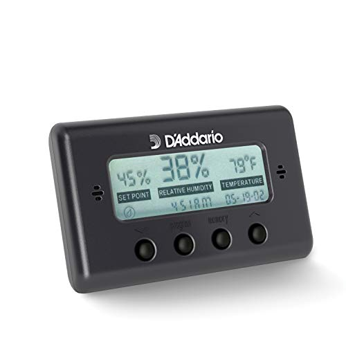 D'Addario Hygrometer Humidity And Temperature Sensor