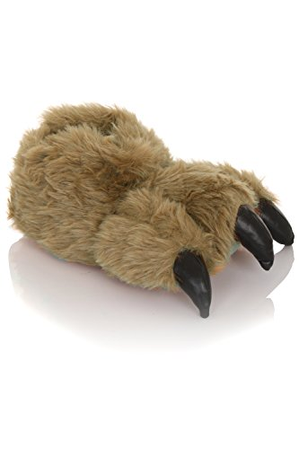 Pantuflas para mujer en 3D diseño de animal Boys Monsters Claw