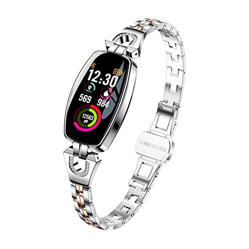 Best Wristwatch With Bluetooths - Cobcob Women's Smart Watch 2019 Sport