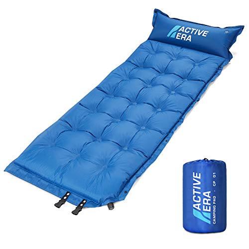 Active Era automatisch opblaasbare slaapmat met kussen en luchtzakken | lichtgewicht en comfortabele slaapmat van schuim