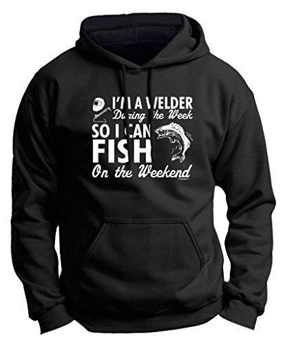 Welder Weekend Fishing Premium Sweatshirt