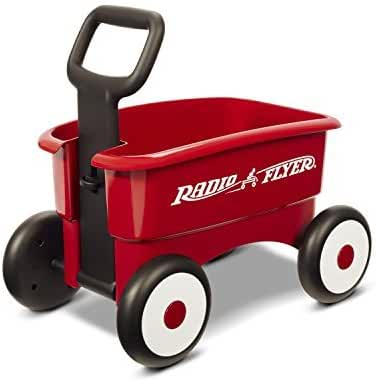 Radio Flyer My 1st 2-in-1 Wagon Ride On, Red by Radio Flyer
