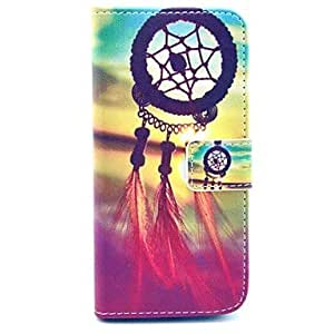 ZMY Sunset And Dream Catcher Pattern PU Leather Full Body Case for iPhone 6